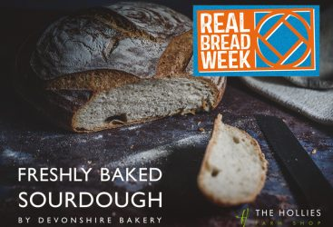 Celebrating Real Bread Week with sourdough made by Devonshire Bakery, Cheshire.